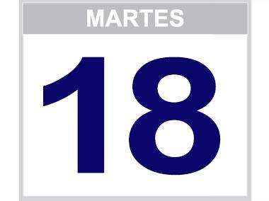 18 martes